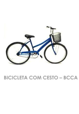Bicicleta Com Cesto - BCCA