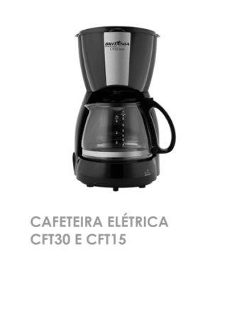 Cafeteira Elétrica CFT30 e CFT15