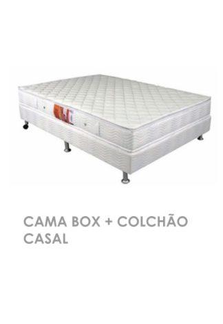 Cama Box + Colchão Casal