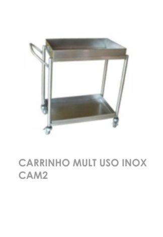 Carrinho Mult Uso Inox CAM2