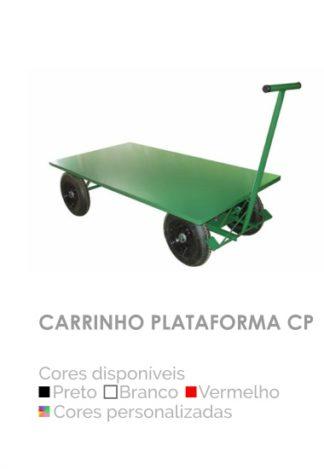 Carrinho Plataforma CP