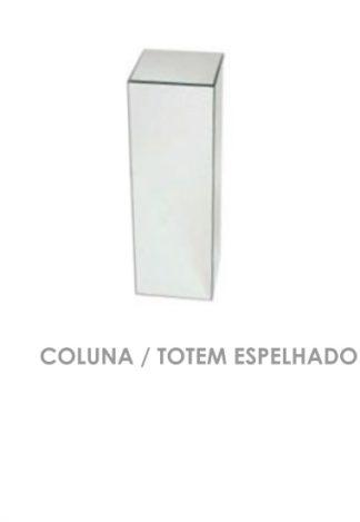 Coluna Totem Espelhado