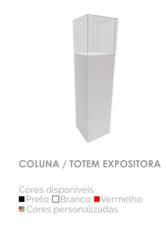 Coluna Totem Expositora