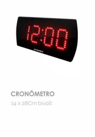 Cronômetro 14 x 28 cm bivolt