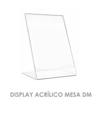 Display Acrílico Mesa DM