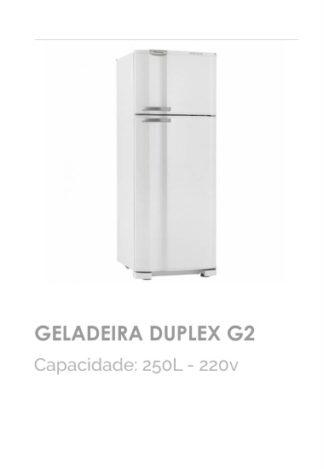 Geladeira Duplex G2