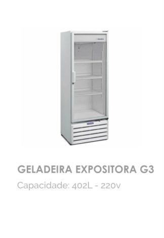 Geladeira Expositora G3
