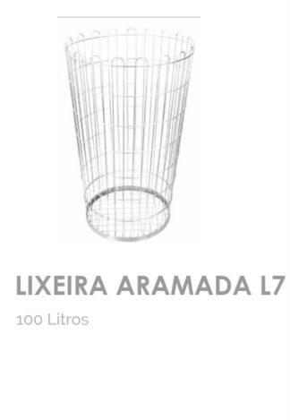 Lixeira Aramada L7 100 litros