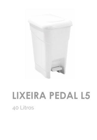 Lixeira L5 Pedal 40 litros
