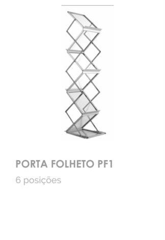 Porta folheto PF1