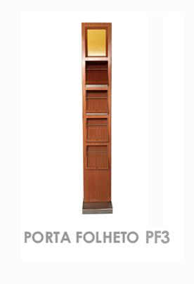 Porta folheto PF3